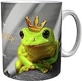 Kaffeetasse/Kaffeebecher / Frösche/Geschenktasse