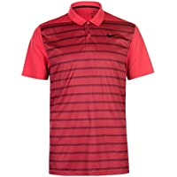 Nike Mm Fly Df Wool Stripe - Polo à manches courtes Homme, couleur Noir, taille M