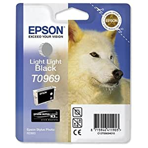 Epson Original T0969 Light Light Black Ink Cartridge