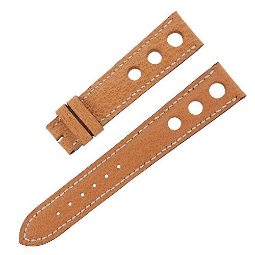 chopard-19-16-mm-en-cuir-noisette-veritable-bande-de-montre-pour-hommes