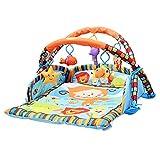 JYCRA Baby Fitness Frame, Tappetino per attività Baby Crawling Mat Game Pad Tappeto da Gioco educativo Fitness Porta Giocattoli per 0–15Mesi Bambino