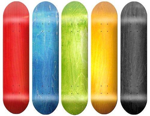 Der Epic Sport 5BLANK Skateboard Deck-sortiert W/Grip Tape 7.5