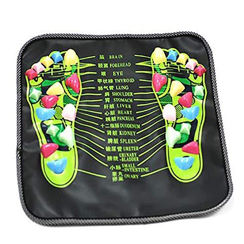 AIMMMY Fußreflexzonenmassage Matte, Fußreflexzonenmassage Fußmatte Weg Massagematte Gesundheitswesen Akupressurmatte Bein Für Relaxing Druck-Muskel-Schmerz Entlasten