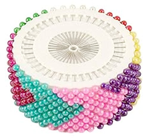 Trendz Handpicked Pack Of 480 Mixed Color Hijab Pins / Scarf Pins