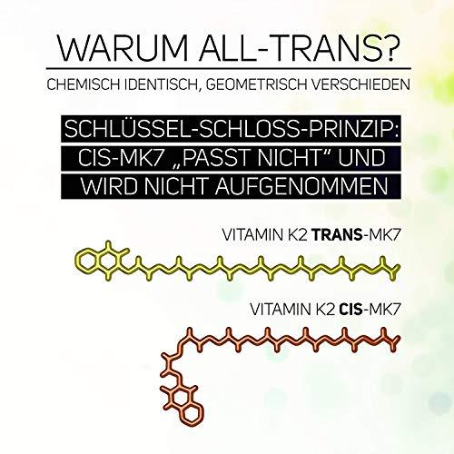 51DFe09iubL - Vitamina K2200?G (menaquinone MK-7Natural) (90pastillas vegetales ()