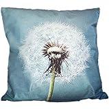 tischdecken-iris-shop Kissenhüllen Kissenhülle 40x40 cm Pusteblume Soft-Touch Dekokissen Kissenbezug Foto