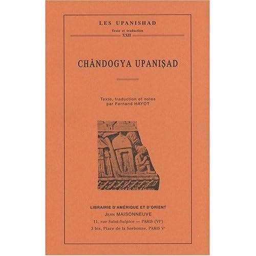 Chandogya Upanishad
