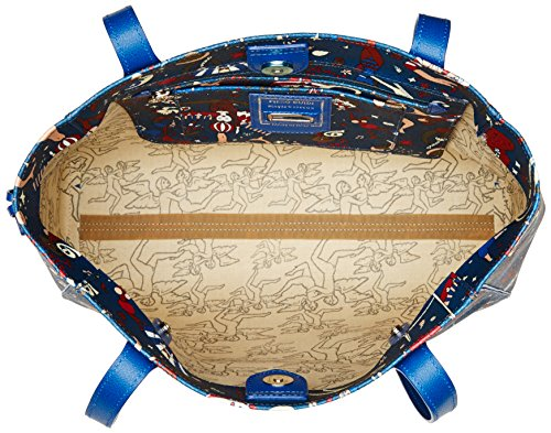 piero guidi Large, Borsa Tote Donna, 35x27.5x11 cm (W x H x L) Blu (Blu di Prussia)