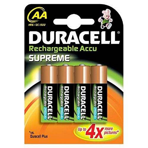 Duracell Pre Charged Wiederaufladbare AA-Batterien 2400mAh Duracell Pre-charged Rechargeable