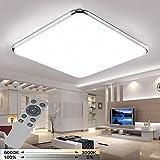 YESDA 48W Dimmbar LED Deckenleuchte Badleuchte Deckenlampe Flurleuchte LAMPE Licht (48W)