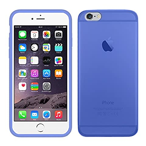 TBOC® Coque Gel TPU Bleu pour iPhone 6 / 6S
