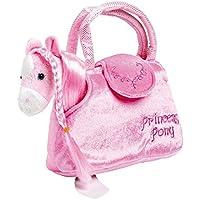 """Pony in der Tasche """"Paulina"""" aus kuschelweichem Plüsch, mit einer niedlichen Handtasche ideal zum Mitnehmen, für kleine Damen ab 3 Jahren"""