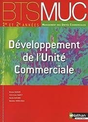 Développement de l'unité commerciale BTS MUC 1e et 2e année