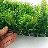 Magideal 40*60cm Artificial Plants Wall ...