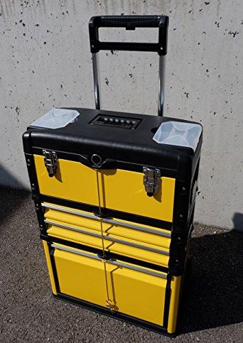 Metall Werkzeugtrolley Werkzeugkasten Werkstattwagen XL Type B305ABD von AS-S - 2