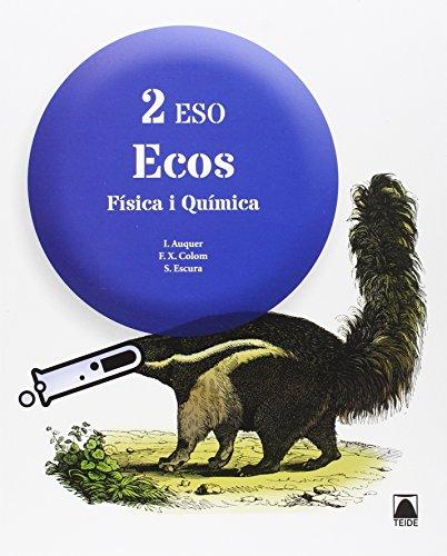 Física i Química 2 - Ecos - ed. 2016 - 9788430791811