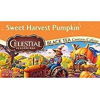 Celestial Seasonings Sweet Harvest Pumpkin Black Tea, 20 Count
