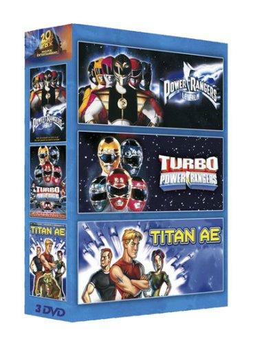 Power Rangers, le film / Turbo Power Rangers / Titan A.E - Coffret 3 DVD [FR Import]