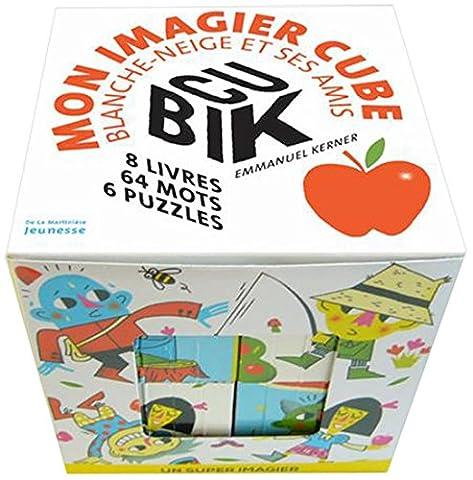 Livre Anime Blanche Neige - Cubik. Mon imagier cube Blanche-Neige et ses