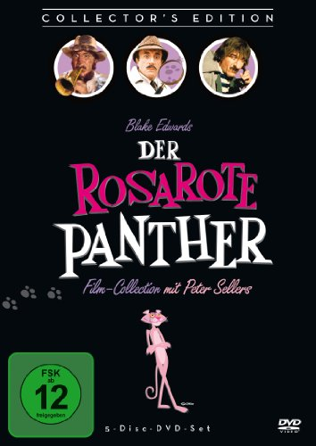 Der Rosarote Panther Film-Collection [Collector's Edition] [5 DVDs] (Der Film Panther)