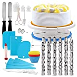 Cake Decorating Supplies Set | Cake Turntable & Cutter | Cake Baking |