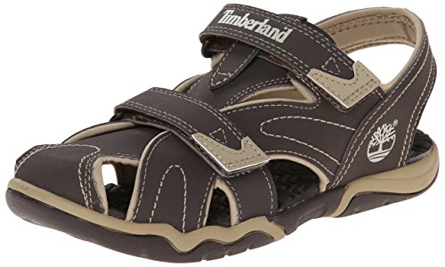 Timberland Active FTK_Adventure Seeker Unisex-Kinder Sandalen, Braun (Brown With Tan), 32