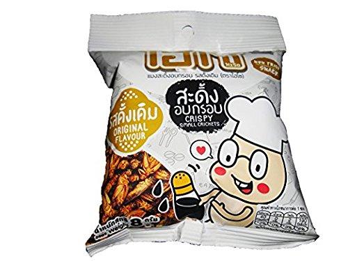grilli piccolo grilli croccante sapore originale non fritto snack peso netto 8g