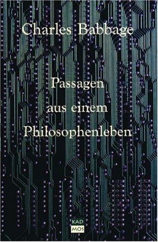 Passagen aus einem Philosophenleben