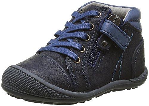 Mod8 Donald, Chaussures Premiers Pas Bébé Garçon, Bleu (Marine), 21 EU