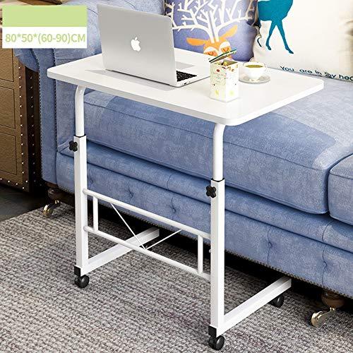 tisch tragbaren Laptop-Schreibtisch Schreibtisch Nacht heb- Mobil Schreiben faul Tisch,warmwhite ()