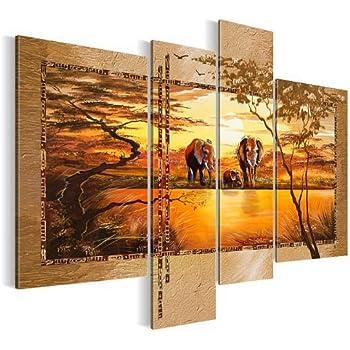 Bilder 120 X 90 Cm   Afrika Bild   Vlies Leinwand   Kunstdrucke  Wandbild