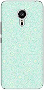 The Racoon Lean printed designer hard back mobile phone case cover for Meizu M3 Note. (Frosted Fl)