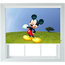 Mickey Mouse Estilo Varios Tamaños Negro fuera Persianas para dormitorios Baños, Cocinas Y caravanas® de pingüino, 2ft/61cm
