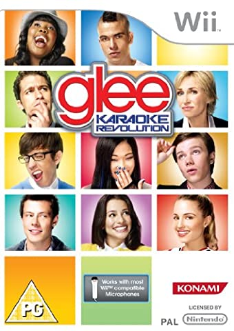 Karaoke Revolution Glee - Game only (Wii) [import anglais]