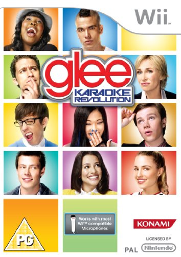 Karaoke Revolution: Glee - Game Only (Nintendo Wii) [Import UK] (Glee Revolution Wii-karaoke)