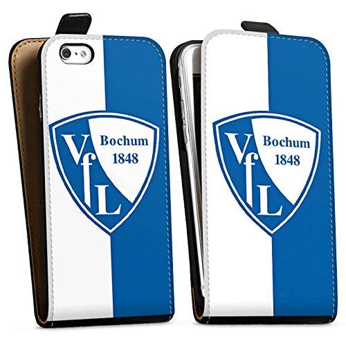 Apple iPhone X Silikon Hülle Case Schutzhülle VfL Bochum Fußball Fanartikel Downflip Tasche schwarz