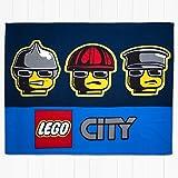 LEGO Charakter City Heroes Platte 100% Polyester Fleece Decke Überwurf