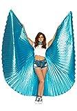LEG AVENUE A2790-360 Degree Isis Wings, Einheitsgröße (Blau)