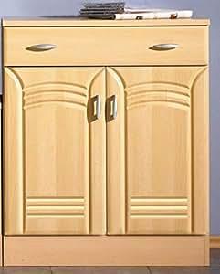 pharao24 sideboard buche kommode regine k che haushalt. Black Bedroom Furniture Sets. Home Design Ideas