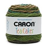 Caron Kuchen 240g Garn, Wolle-Gemisch, grün Tee, 16x 16x 16cm