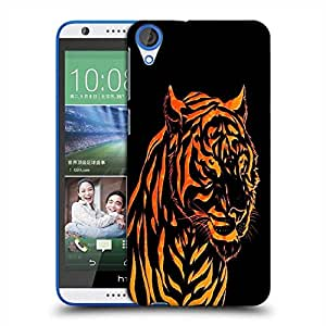 Snoogg Fury Tiger Designer Protective Phone Back Case Cover For HTC Desire 820