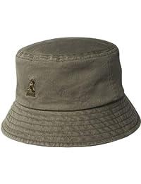 17207902ceeb9 Kangol Washed Bucket Hat - Olive