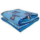 Minky Babydecke Kuscheldecke Krabbeldecke Decke Super weich und flauschig Handarbeit (75x100cm, Blau Boy)