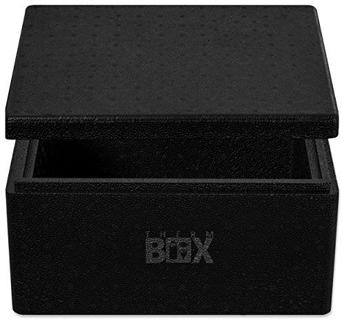 THERM-BOX Profibox 12B | Innen: 34x23x15cm | Wand:3,0cm | Volumen: 12,1L | Styroporbox Thermobox Kühlbox Warmhaltebox