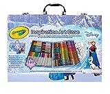CRAYOLA Valigetta dell'Artista Disney Frozen per Colorare e Disegnare, età 5 Anni, per Gioco e Regalo, Colori Assortiti, 140 Pezzi, 04-2539