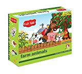 #6: Kidz Valle Farm Animal Puzzles 6 X 2 Pieces 12 Months - 3 Years ( Puzzles for Kids, Floor Puzzles )