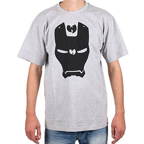 Wu Wear - Wu Iron Mask T-Shirt - Wu-Tang Clan Grey