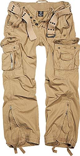 Kostüm Jungs Für Urlaub - Brandit Royal Vintage Trousers Freizeithose - Beige XXL