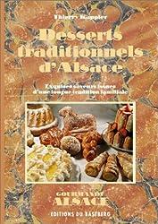 Desserts traditionnels d'Alsace