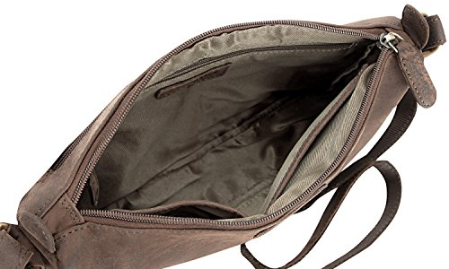 LEABAGS Chandler borsa vintage in vera pelle di bufalo - Noce moscata Noce moscata Venta Barata Barata lsUPPL7N
